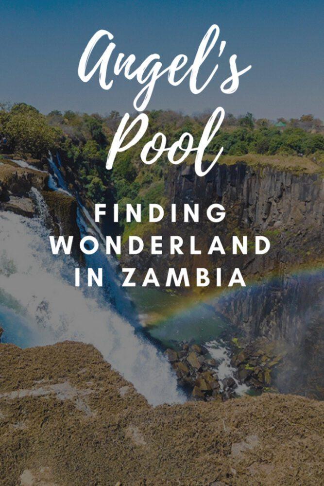 Angels Pool Victoria Falls Zambia
