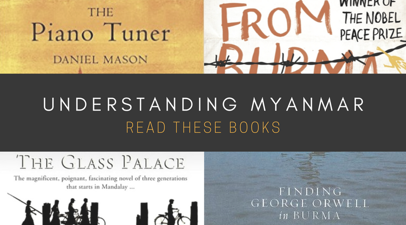 BOOKS ABOUT MYANMAR