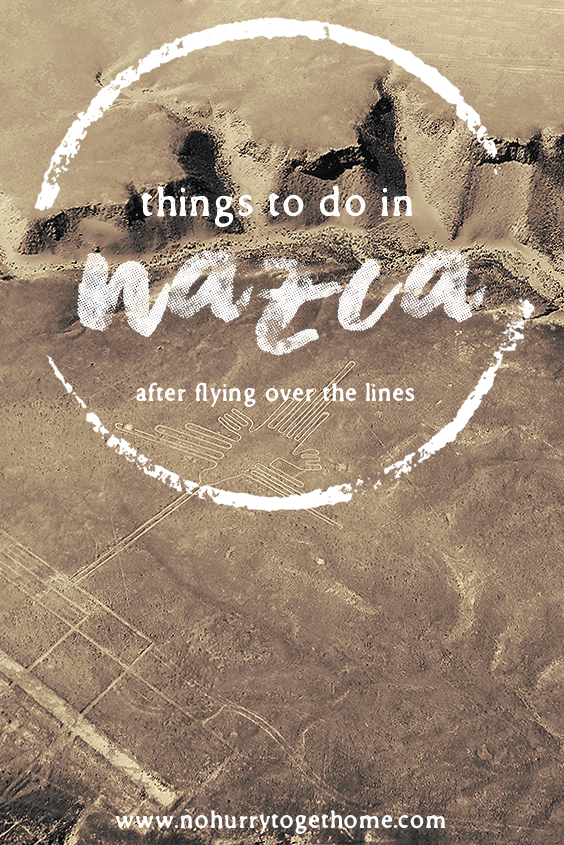 From sandboarding the tallest sand dune in the world to exploring ancient pyramids and visiting mummies, here are four incredible attractions in Nazca to visit after flying over the Nazca Lines. #Nazca #Peru #NazcaLines #NoHurryToGetHome #SouthAmerica #Ica #Sandboarding