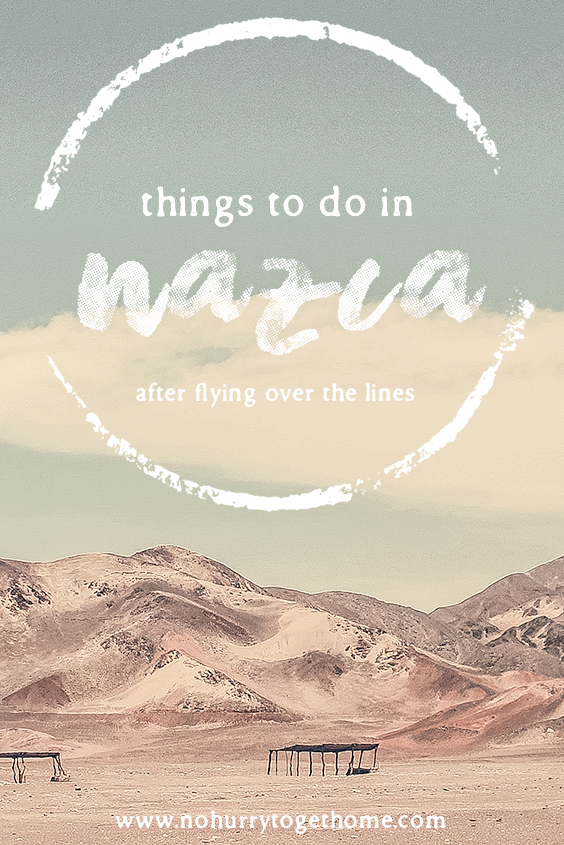 Four incredible things to do in Nazca to visit after flying over the lines! From sandboarding the highest dune in the world to exploring cemeteries with mummies in them, this post will show you why a full day in Nazca after flying over the lines is so worth adding into your Peru itinerary! #Nazca #Peru #NazcaLines #NoHurryToGetHome #SouthAmerica #Ica #Sandboarding