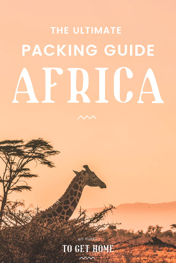 Planning your trip to Africa and wondering what to pack? In this packing list, I share all the essentials to pack to backpack East Africa. It will help for planning to travel in Kenya, Rwanda, Tanzania, and Uganda!