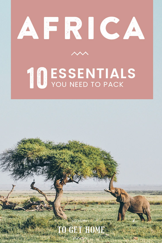 10 Essentials you need to add to your packing list for stress-free backpacking in East Africa. #AfricaTravel