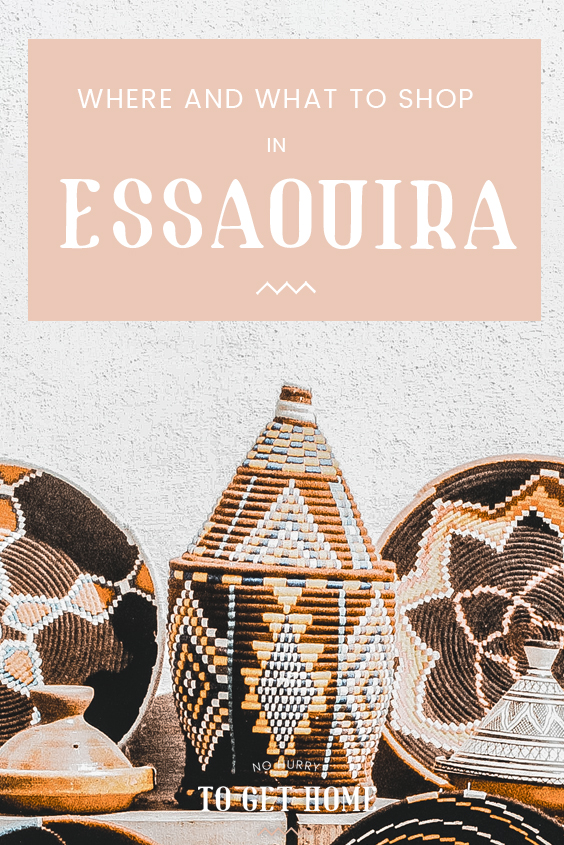 Looking to buy some of the best crafts and souvenirs Morocco has to offer? Essaouira is an amazing shopping destination in Morocco, and here's a detailed guide to my favorite shops in Morocco's boho chic town! #Essaouira #TravelGuide