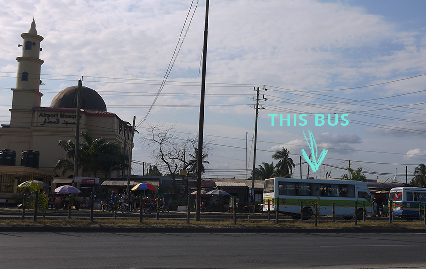 How to get from Dar Es Salaam airport to the city center
