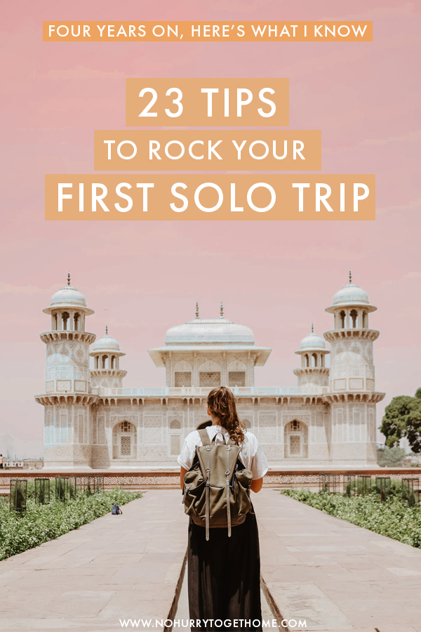 Planning your first solo trip? How exciting! If you're having doubts or fears, here are 23 solo female travel tips that will make your first time traveling alone so much easier. After four years of traveling the world alone as a woman, here is everything I know!
