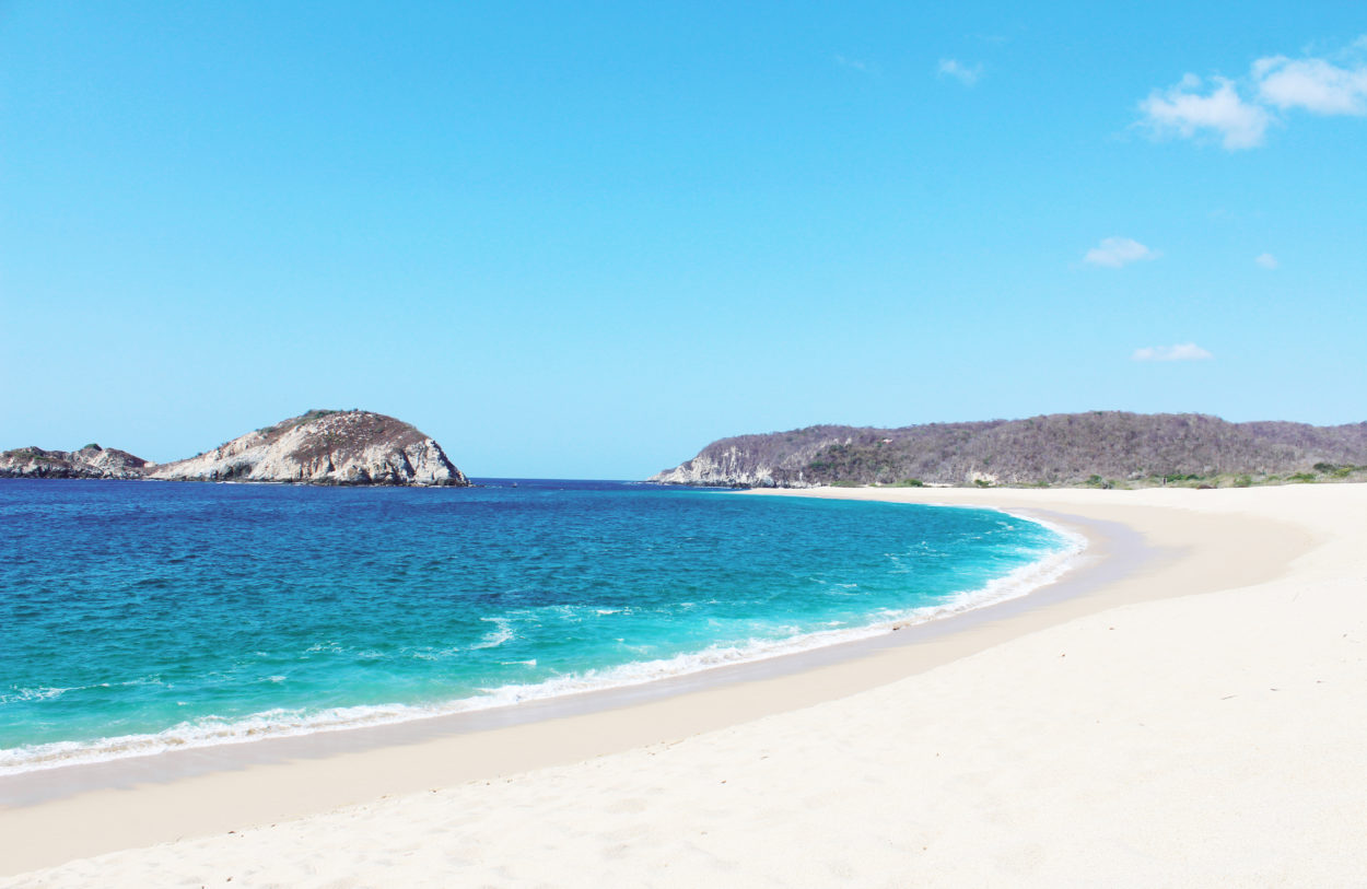 Cacaluta Best Beach in Oaxaca Off the beaten path