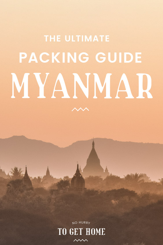 Planning a trip to Myanmar and wondering what to wear and what the dress code is? Here's a thorough Myanmar packing list to make sure you bring everything you need to the Golden Land! #MyanmarTravel