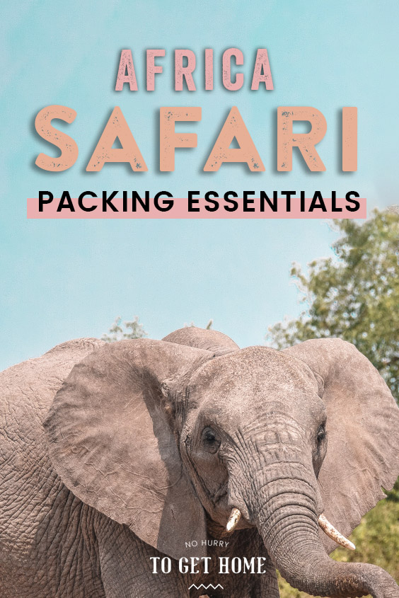 Planning a safari in Africa? Whether you're going to South Africa, Kenya, Botswana, Tanzania, you'll love these tips on planning the perfect packing list for an African safari! #AfricaTravel