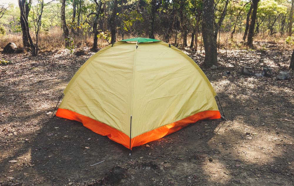 Camping at Chimfunshi