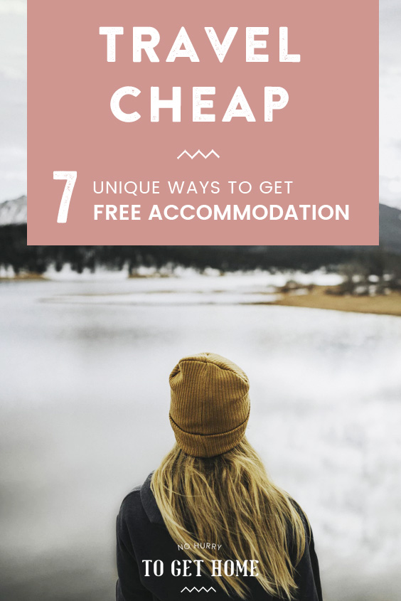 Wondering how to travel for free or at least very cheaply? Here are twenty unique ways to find free accommodation everywhere you go (that are totally legit!)