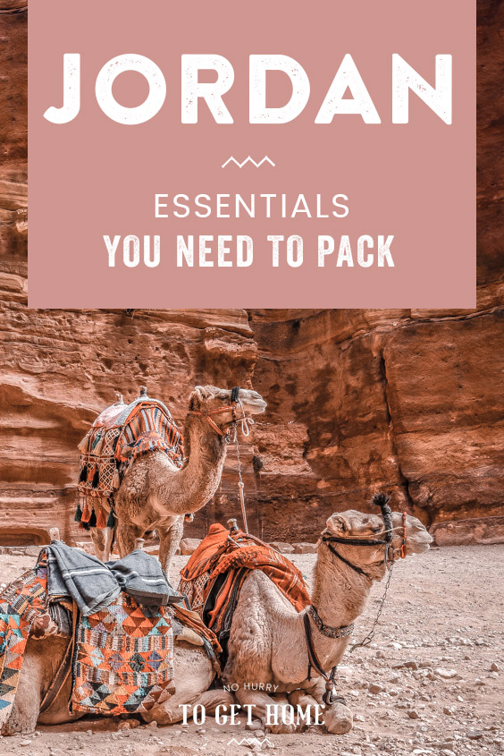 Traveling to Jordan soon and wondering what to pack and what to wear as a female traveler? Here's the ultimate Jordan packing list with all the essentials you need to pack as well as tips in what to wear (hint: it might surprise you!) #JordanTravel