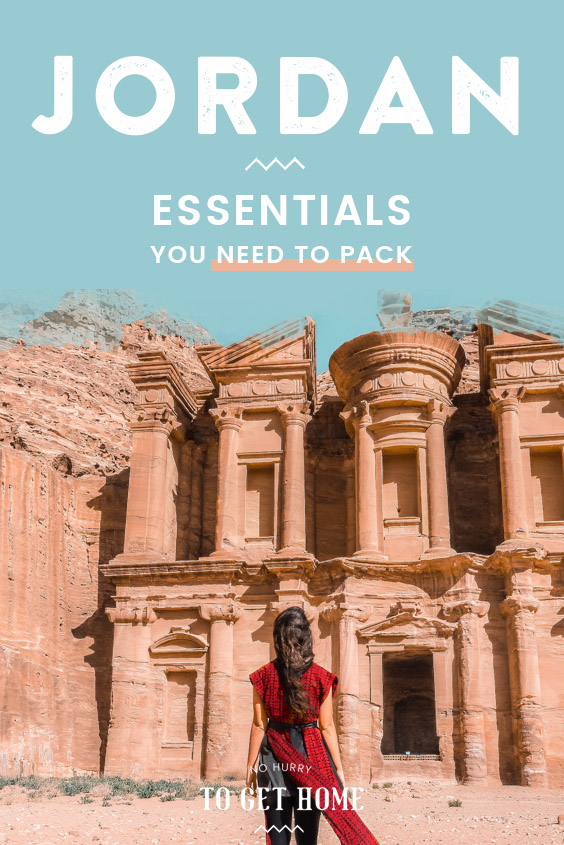 Wondering what to pack for Jordan? I've put together this packing list with ALL the essentials you need to pack, including tips and tricks on what to wear and other useful travel tips for Jordan! #JordanTravel