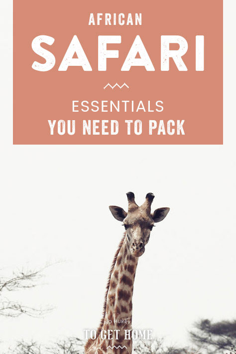 Planning what to pack for a safari in Africa can sometimes feel overwhelming, so I've put together this packing list for a safari in Africa to help you plan the perfect safari without worrying to much on what to pack and what to wear on safari! #AfricaTravel