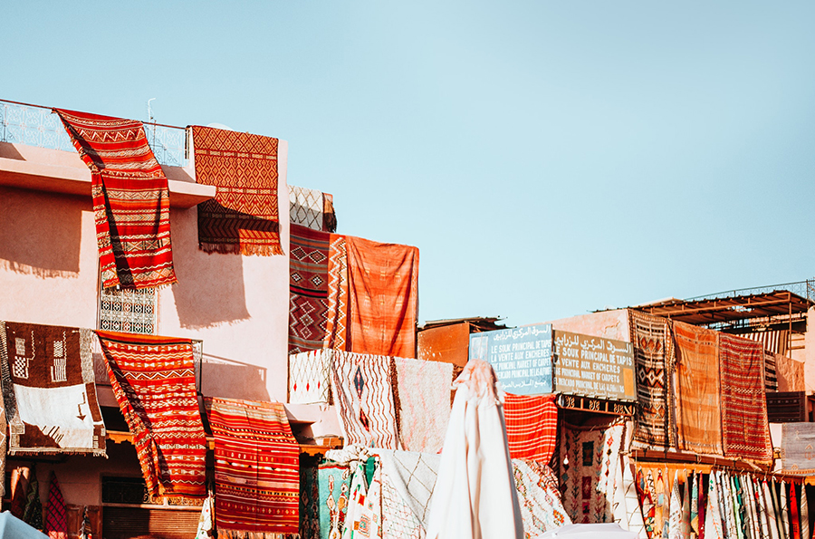 Marrakech, the red city of Morocco