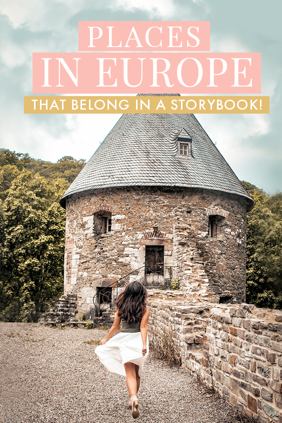 Looking for unique experiences and things to do in Europe? Check out these incredible fairytale destinations in Europe, from Cinderalla castles to seaside towns that come from storybooks, here's the only Europe bucket list you need! #Europe