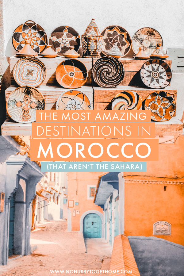 Wondering where to go in Morocco? After seven trips to this varied country, I've rounded up my favorite destinations in Morocco that you absolutely cannot miss in your Morocco itinerary! #Morocco #Africa