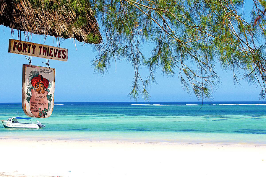 Partying at forty thieves is an incredible way to end a Diani Beach itinerary