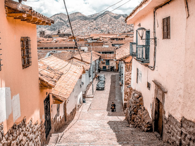 Exploring the pretty cobblestone streets of Cuzco was one of the highlights of my two-week Peru itinerary!