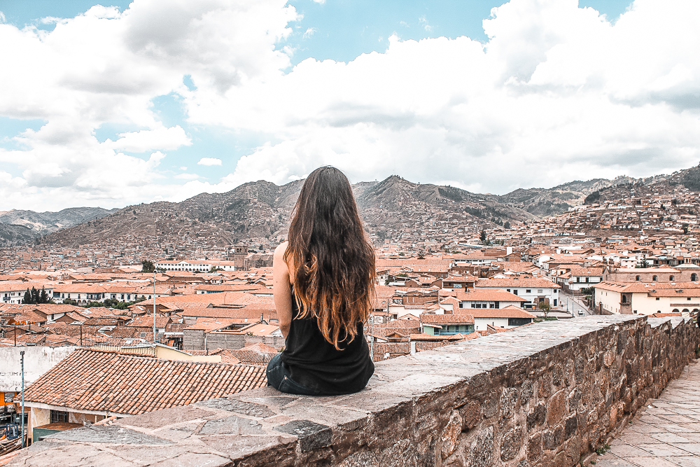 Exploring the city of Cuzco in Peru