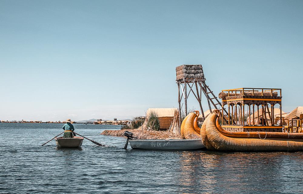 Islas Uros, Puno