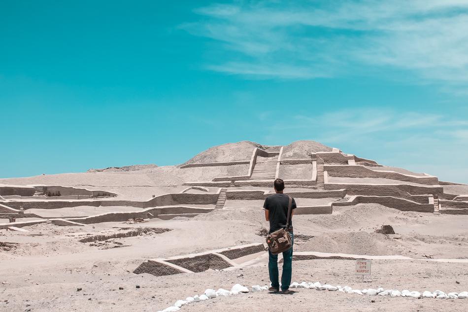 Cahuachi Pyramids in Nazca, Peru