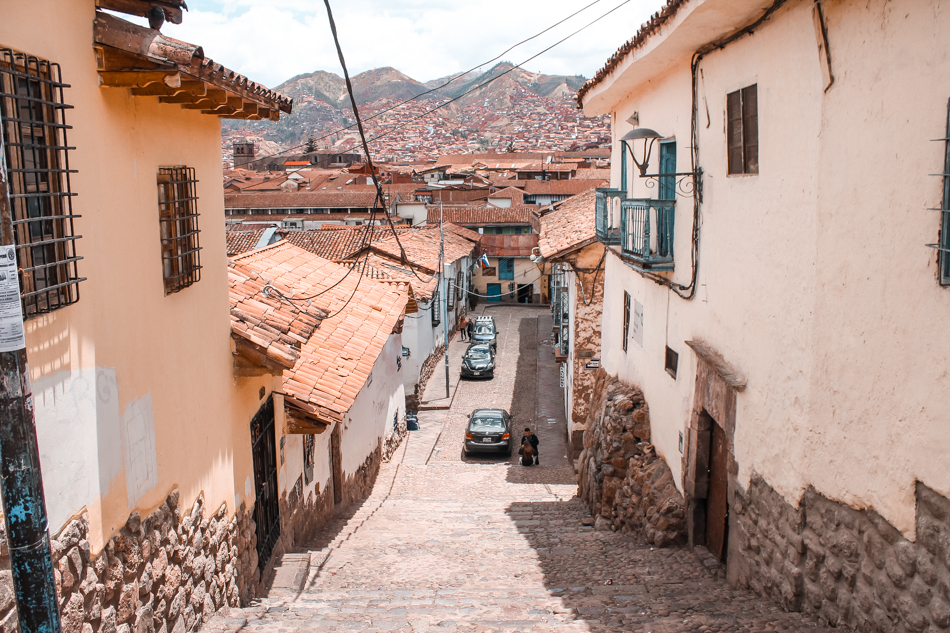 The old town charm of Cuzco in Peru