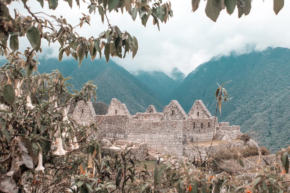 The citadel of Machu Picchu, Peru