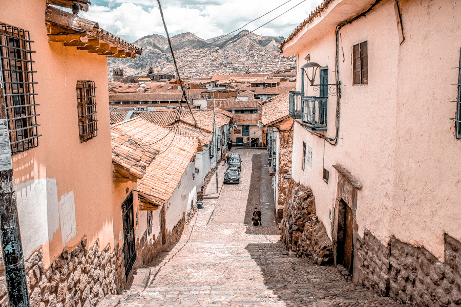 The pretty alleys of Cusco, a great stop before visiting Machu Picchu