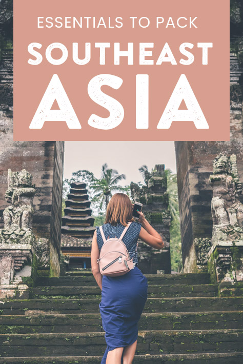 Whether you're backpacking Southeast Asia or just visiting the region for a holiday, this packing guide to Southeast Asia covers everything you need to bring for all the countries in the region. From Thailand to Bali to the Philippines, here is everything you need to pack to travel Southeast Asia!
