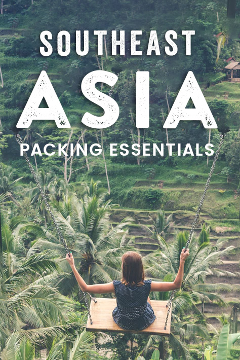 Whether you're traveling Southeast Asia for a holiday or planning a long backpacking trip through the region, you want to make sure you pack all the essentials you'll need to bring. Here's the ultimate packing list for Southeast Asia with tips and trick on what to wear, what essentials to pack, and what to leave behind! #SoutheastAsia