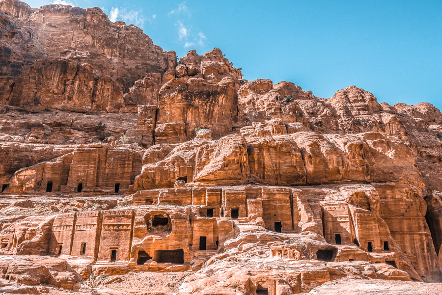 Petra in a day: Sandstone desertscapes