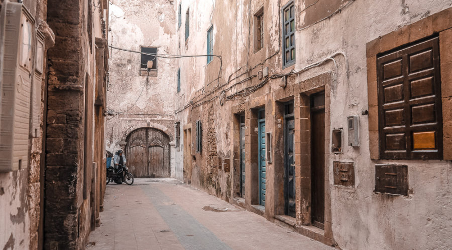 The gorgeous medina of Essaouira, it's easy to get lost in it while shopping in Essaouira. I've put together a list of the best places to shop in Essaouira that I stumbled across during my trip to Morocco.