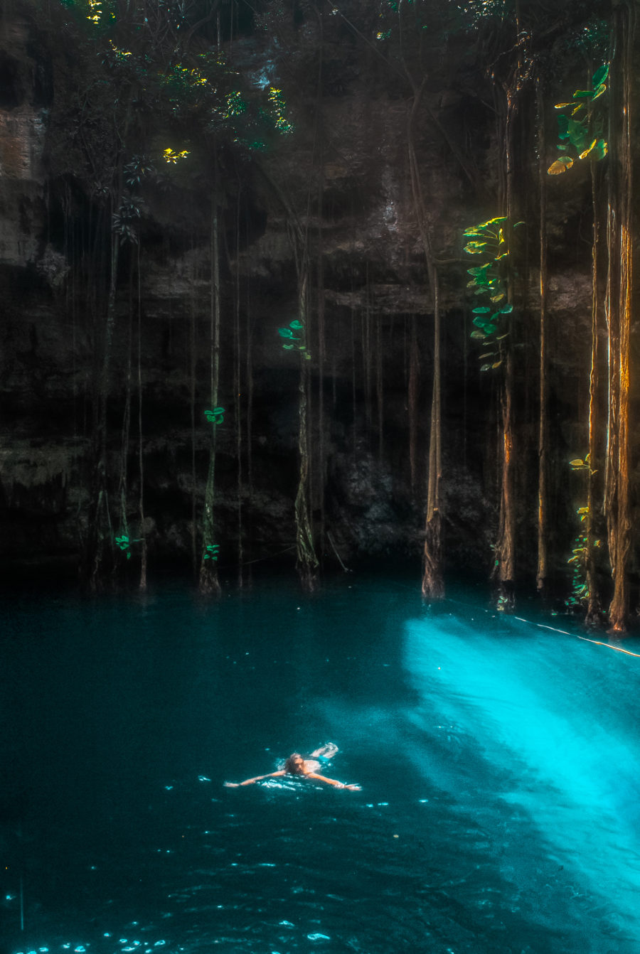 Looking for the best cenotes in Valladolid? This guide will take you through four stunning cenotes, all which you can get to on a bike!