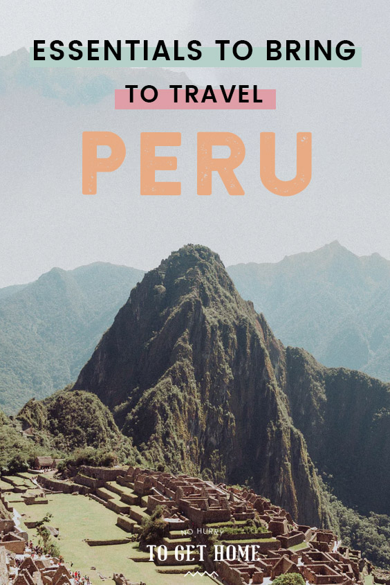 Packing for Peru seems tricky because the country is so diverse, so I've put together a thorough guide on every essential you need to pack whether you're here for sightseeing or for more adventurous trekking adventures! #PeruTravel