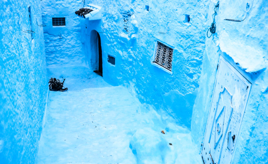 Chefchouen, the blue city of Morocco is one of the coolest places I've been to