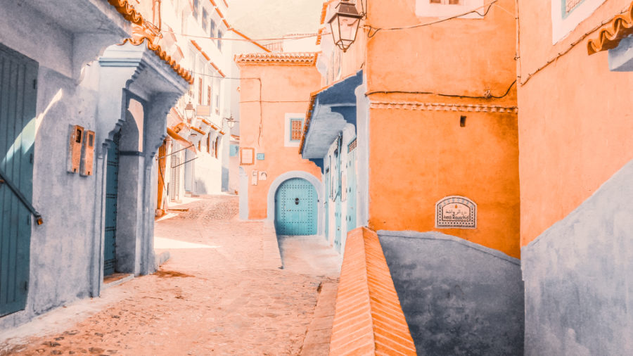 Chefchouen Blue City Morocco-18