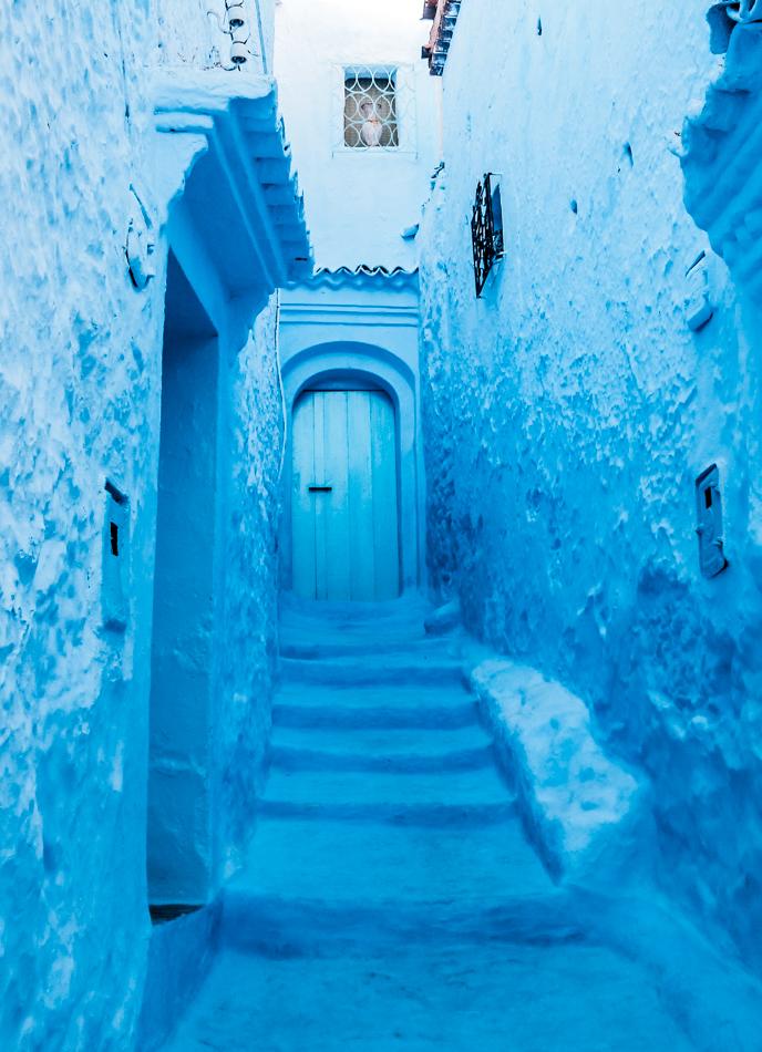 Chefchouen Blue City Morocco-2