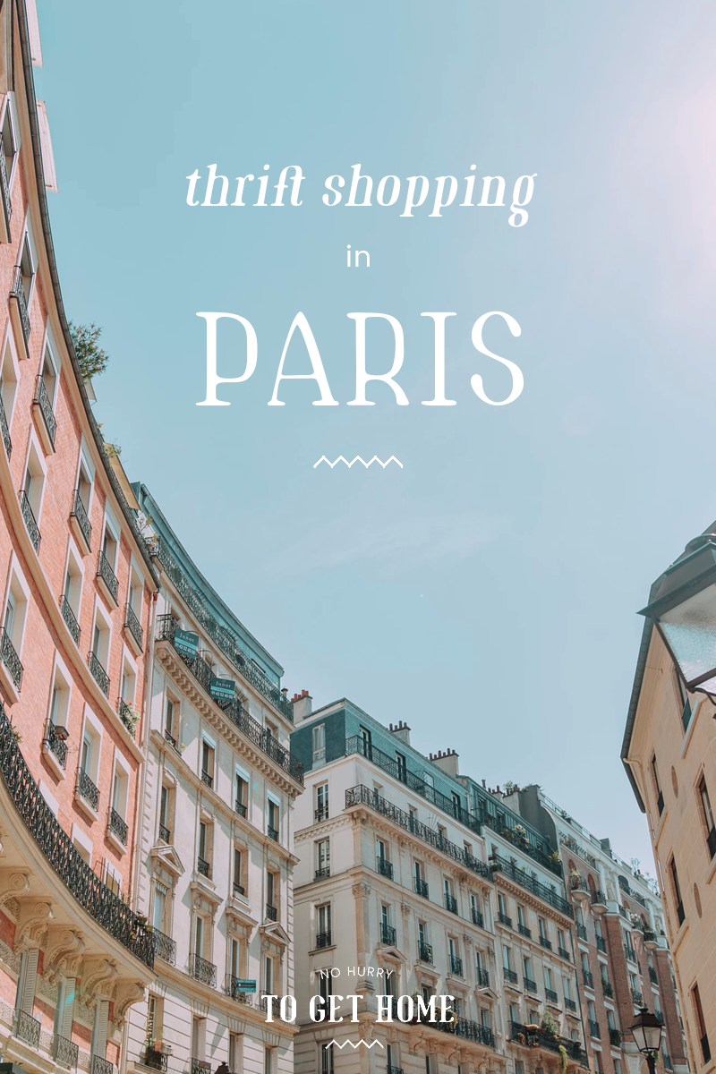 From small vintage boutiques to second-hand clothes shop filled with all things weird and wonderful, here's my guide to thrift shopping in Paris! #Paris #ThriftShopping