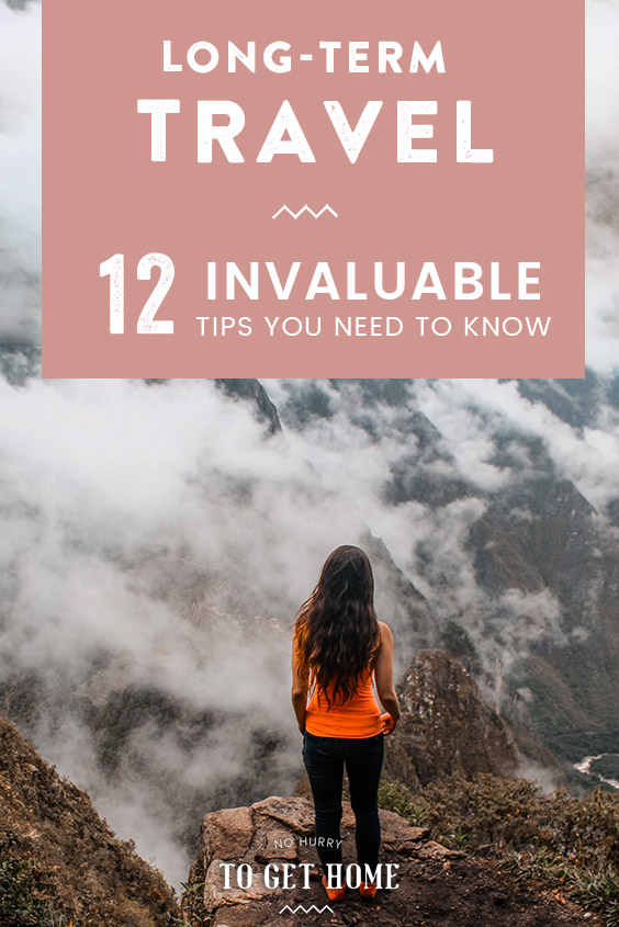 Planning your first solo long-term travels? After four years of traveling the world alone, here are 12 invaluable long-term travel tips for you!