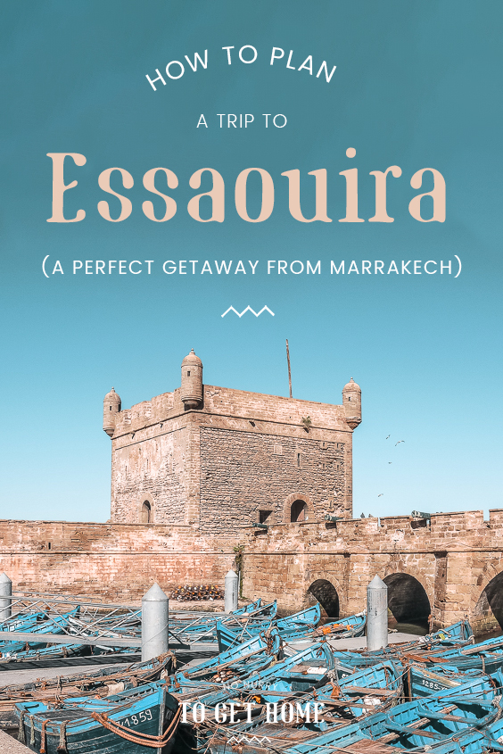 Traveling to Morocco and wondering what the best destinations are? Essaouira is a must in any Morocco itinerary, and here's a travel guide with the best things to do in Essaouira, the best riads and hotels to stay, and how to get there from Marrakech if you only have time for a daytrip! #Morocco #Essaouira #Destinations
