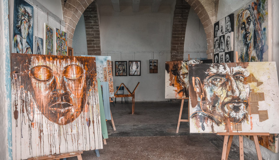 Espace Othello is one of the many incredible art galleries to shop in Essaouira. Looking for other fun artsy things to do in Essaouira? Here's a guide I wrote with activities and tips for a kickass trip to Morocco's boho beach town!
