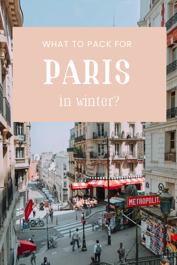 Answering the ultimate question: What to wear in Paris in January? Grab my exact January Paris packing list with useful things to pack as well as all the essentials to keep you warm and stylish! #Paris #January #ParisTravel
