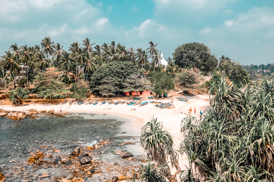 Hiriketiya is a tropical paradise in Sri Lanka's south coast for those who love tropical vibes, quiet beaches, and a local feeling rather than massive resorts. It was my favorite beach destination in Sri Laka!