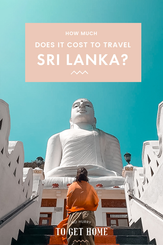 Planning a trip to Sri Lanka and wondering how much it will cost you? Here is the exact budget of my trip to Sri Lanka, including hotels, food, activities, and more! Whether you're planning on backpacking or going on a family trip, here is how much you can expect to spend to travel Sri Lanka.