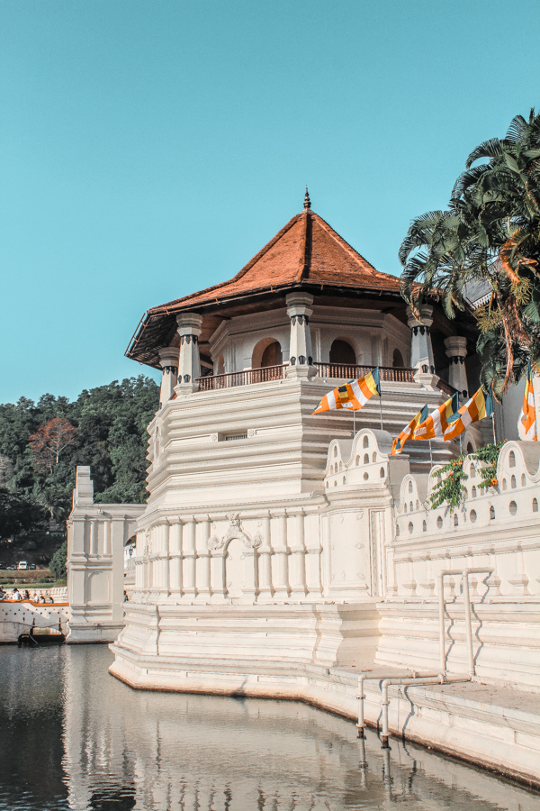 The Royal Palace and Temple of the Tooth are an important attraction to see in Kandy, Sri Lanka. No Kandy itinerary is complete without checking it out!