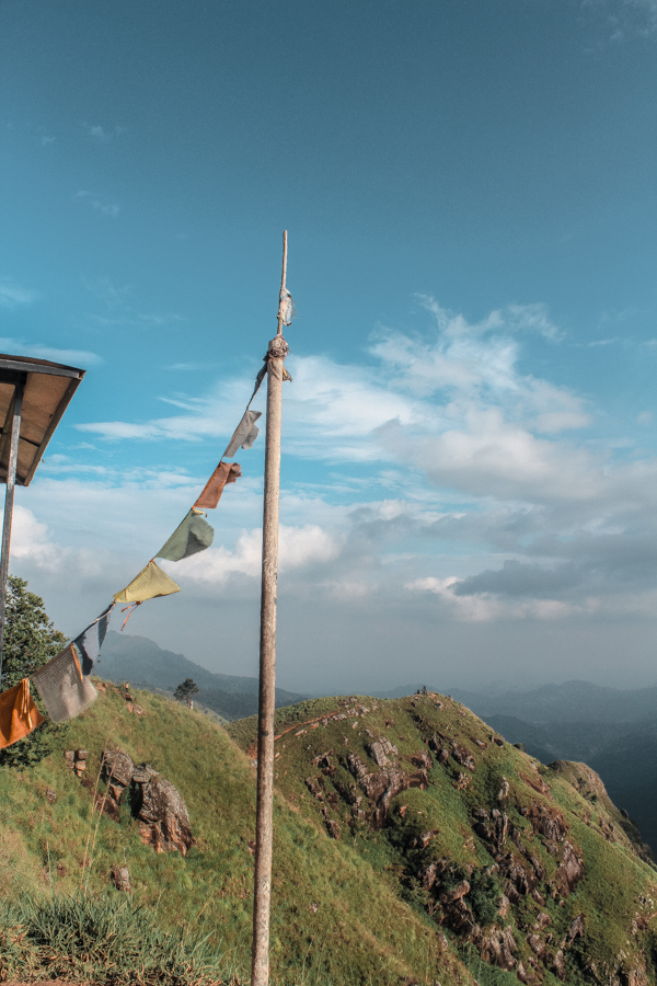 Hiking up Little Adam's Peak is one of the best things to do in Ella, Sri Lanka!
