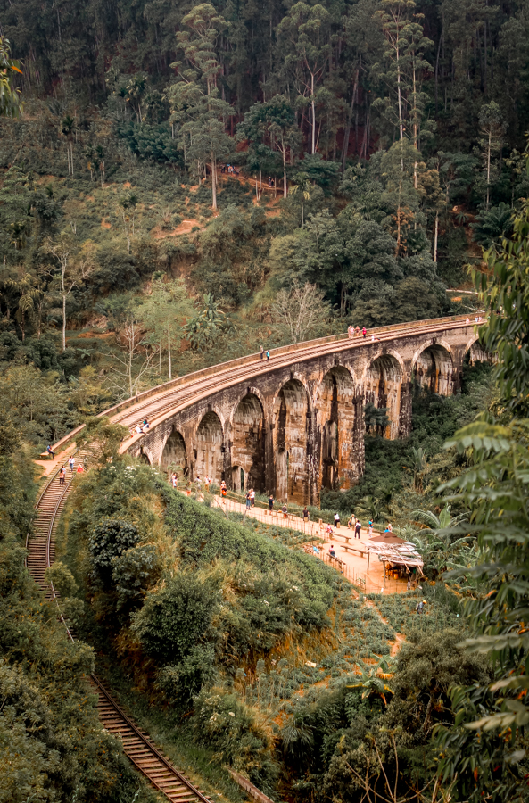 Visiting Nine Arch Bridge is one of the best things to do in Ella, Sri Lanka!