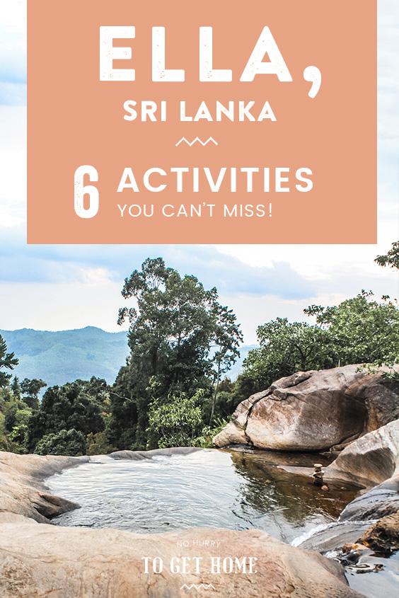 Planning your Sri Lanka itinerary and wondering how long to spend in Ella, Sri Lanka? This town tucked away in the middle of lush hills isn't short of things to do, so I've rounded up my favorite activities and attractions to see in Ella in this travel guide!