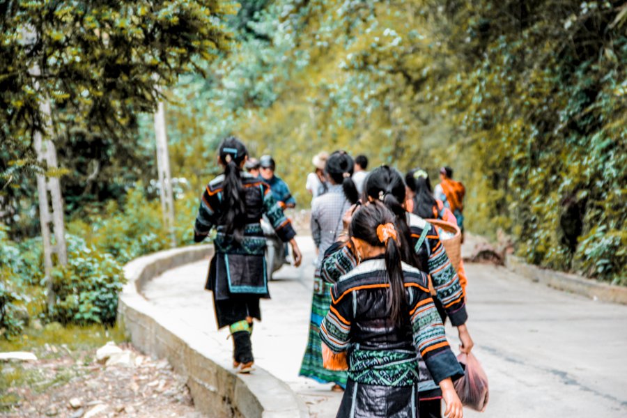The hill tribes of Sa Pa in Vietnam
