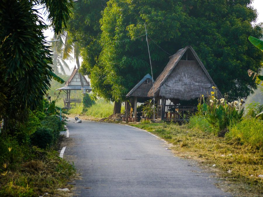 My home in Thailand for over a year before I started blogging and freelancing to make money while travelin